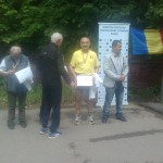 Dumitru CALINA la CN de Sosea Loc I (Campion National, M +55), 10.000 m, Pitesti-Trivale 10.05.2014 Fotografie15956
